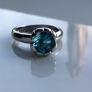 💙NEW! Blue Topaz In Solid Sterling Silver💙